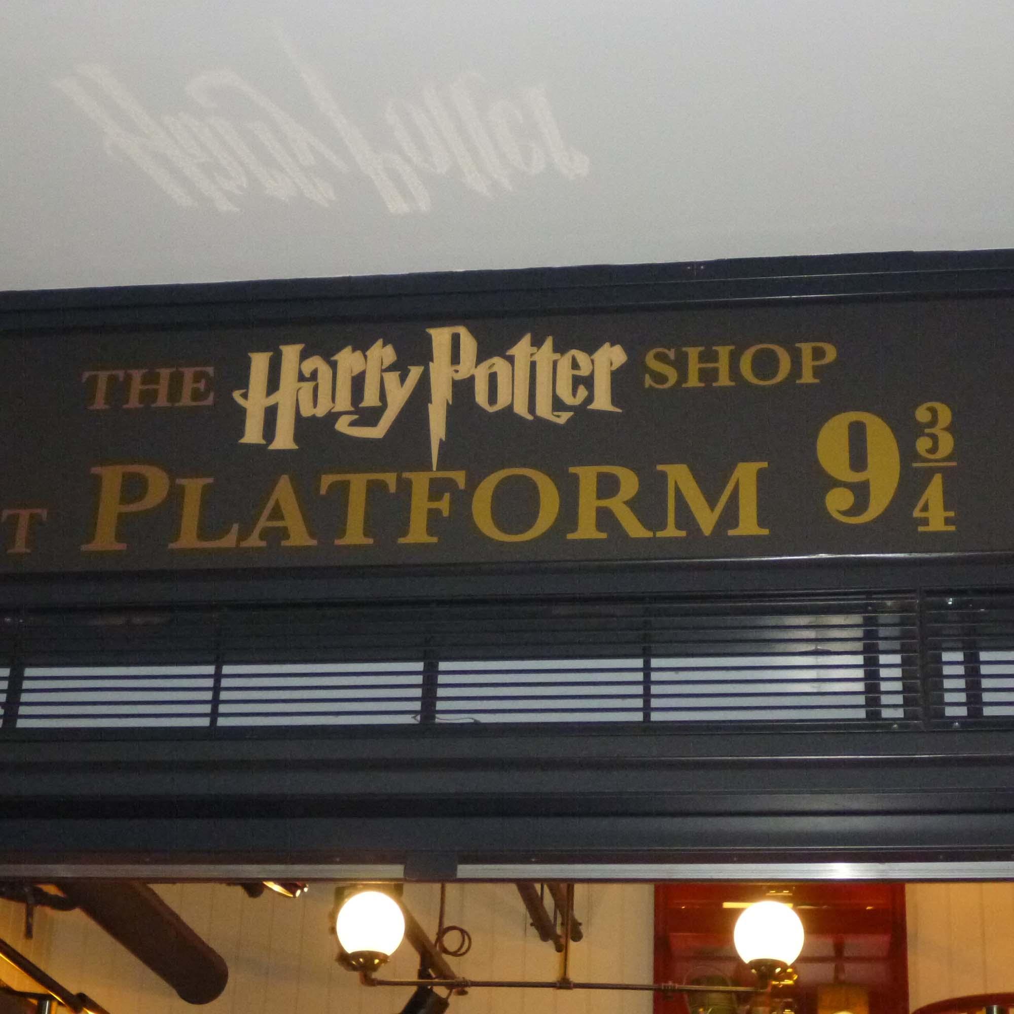 "Der offizielle ""Harry-Potter""-Shop im Bahnhof Kings Cross"