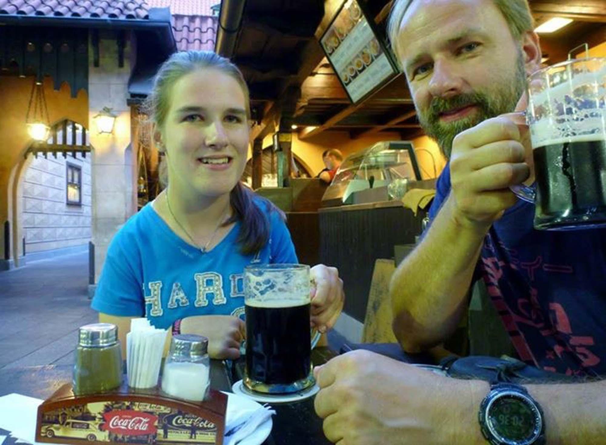 Gutes Bier in toller Atmosphäre