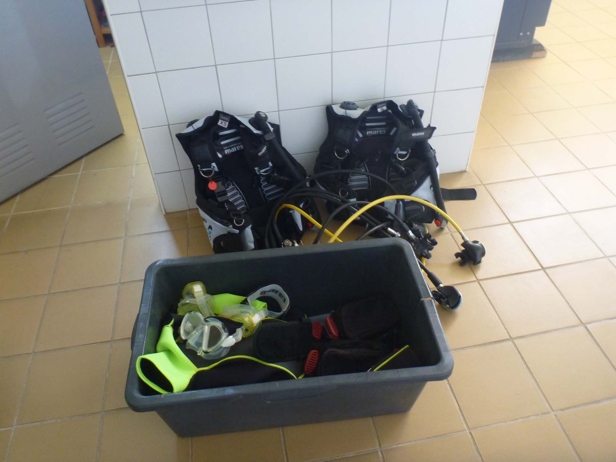 Das Equipment