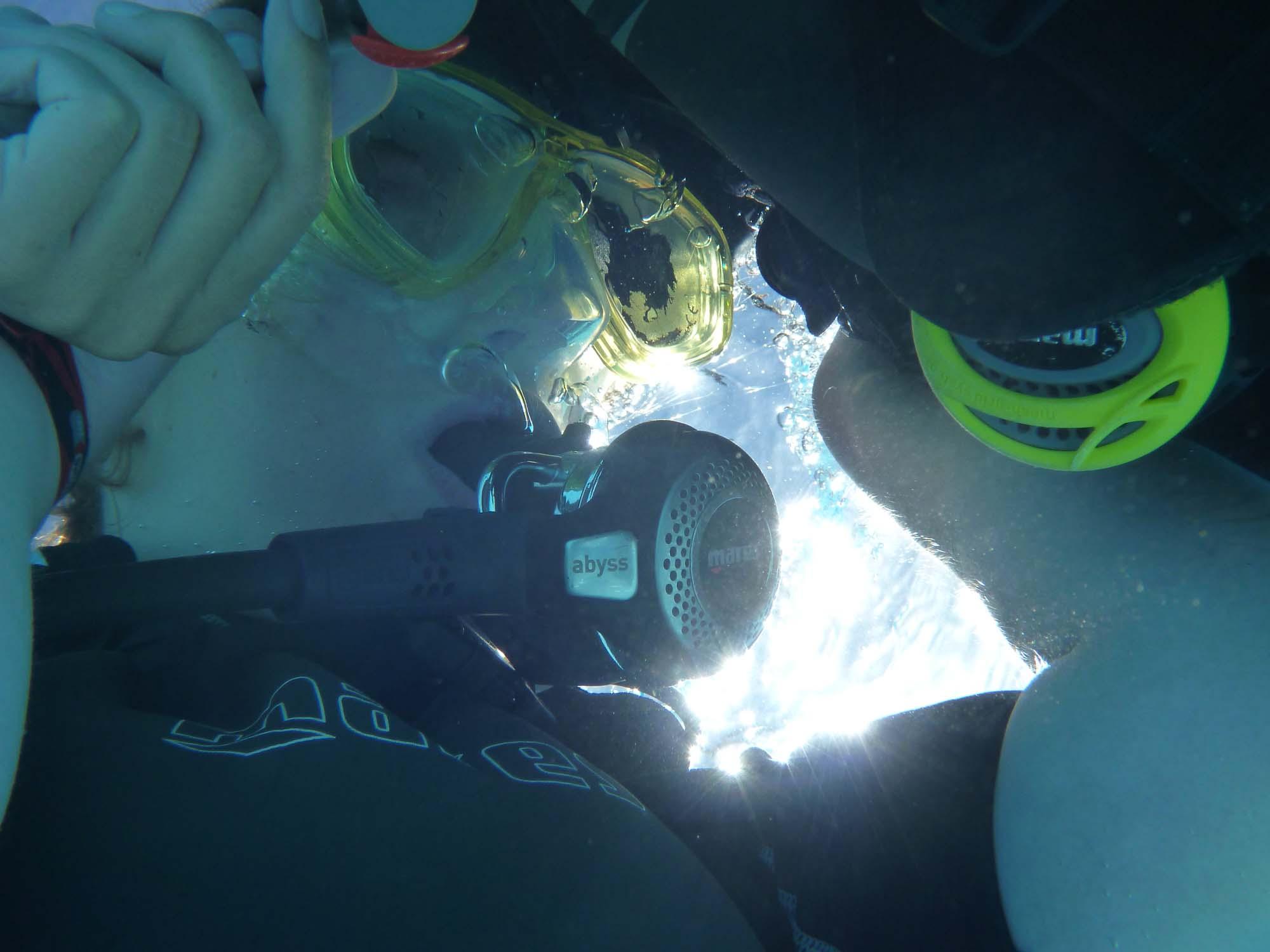 immer noch unterwasser