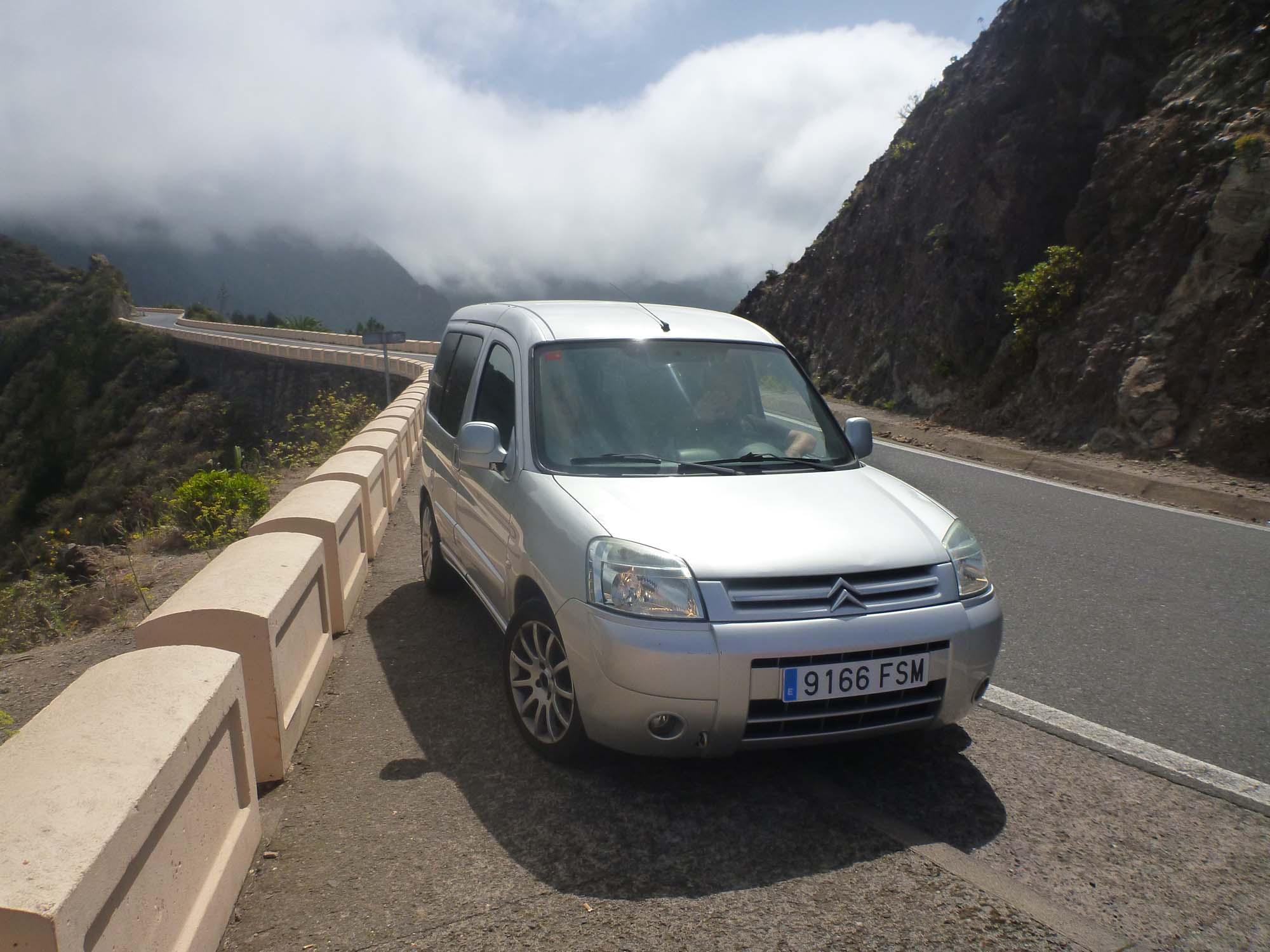 Im Nebel des Anaga Gebirges