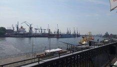 Blick auf die Hafencity Hamburg